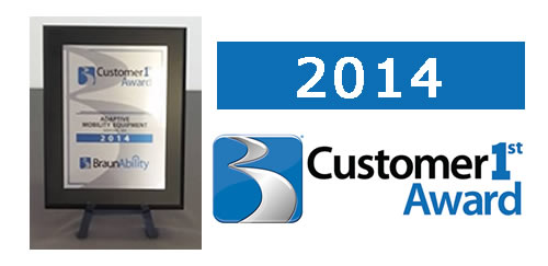 2014 Customer 1st Award