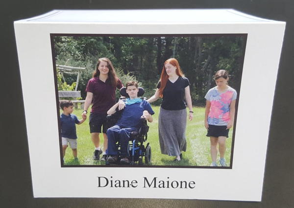 Maione Thank You card
